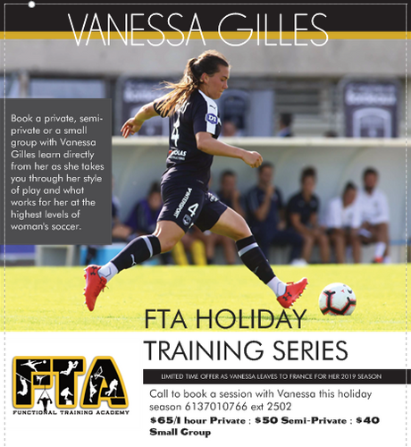 FTA HOLIDAY TRAINING SERIES with Vanessa Gilles