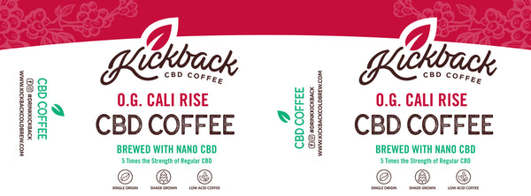 Kickback CBD Coffee Ground  - 226 Gram Bag