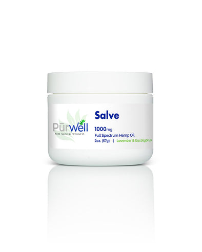 PūrWell CBD Salves - Topical Application For Targeting Specific Areas