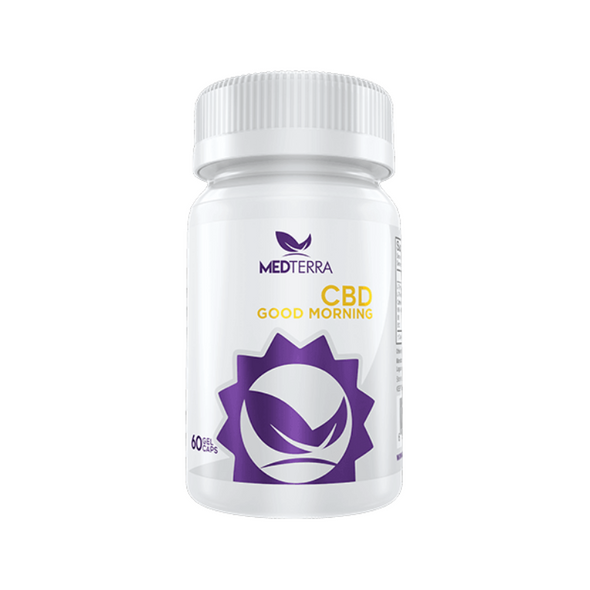Medterra Good Morning CBD Energy & Focus Capsules 25mg - 60 Count
