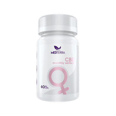 Medterra Women's Monthly Wellness Capsules with CBD - 25mg