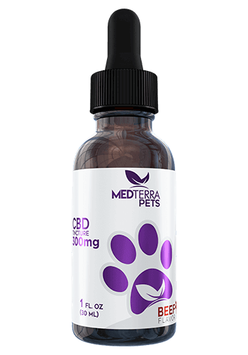 Medterra CBD Pets Tincture - Calming CBD Oil For Your Furry Friends