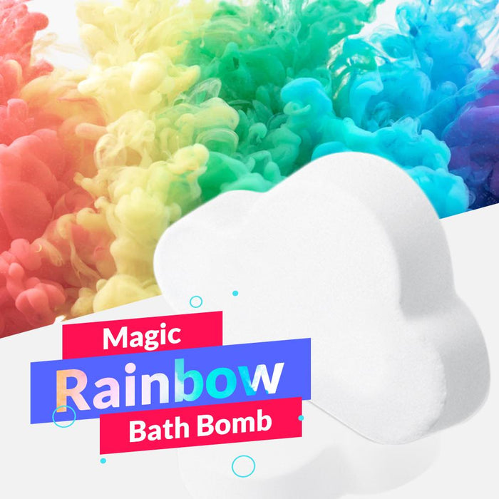 Magic Rainbow Bath Bomb