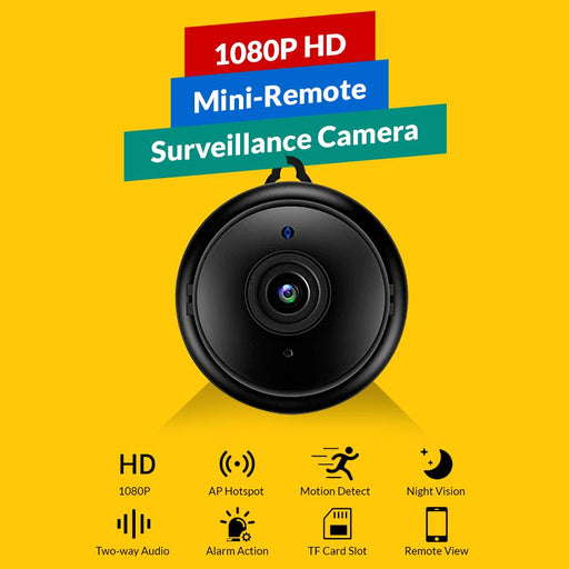 1080P HD Mini-Remote Surveillance Camera - Smart Living Box