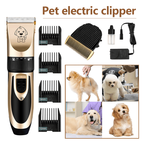 Professional Rechargeable Electric Trimmer for Dogs - Smart Living Box