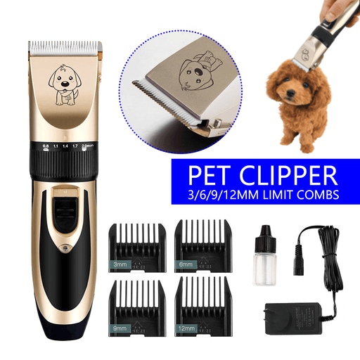 Professional Rechargeable Electric Trimmer for Dogs