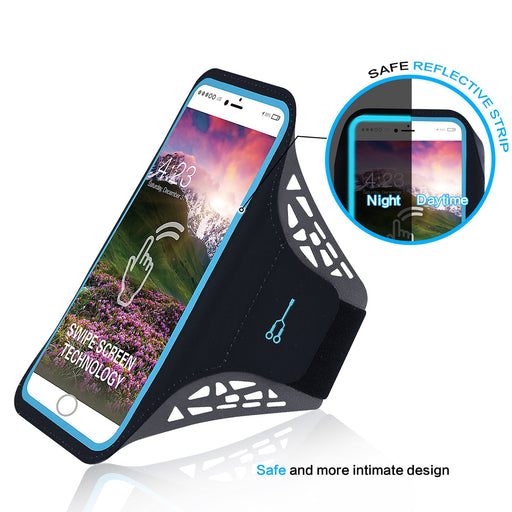 Gym Running Sport Cell Phone Cover Bag Holder Armband For iPhone X/8/8plus 7plus/6plus Samsung Galaxy s8/s8plus/s7 Google Pixel HTC10 - Mobile Tribe
