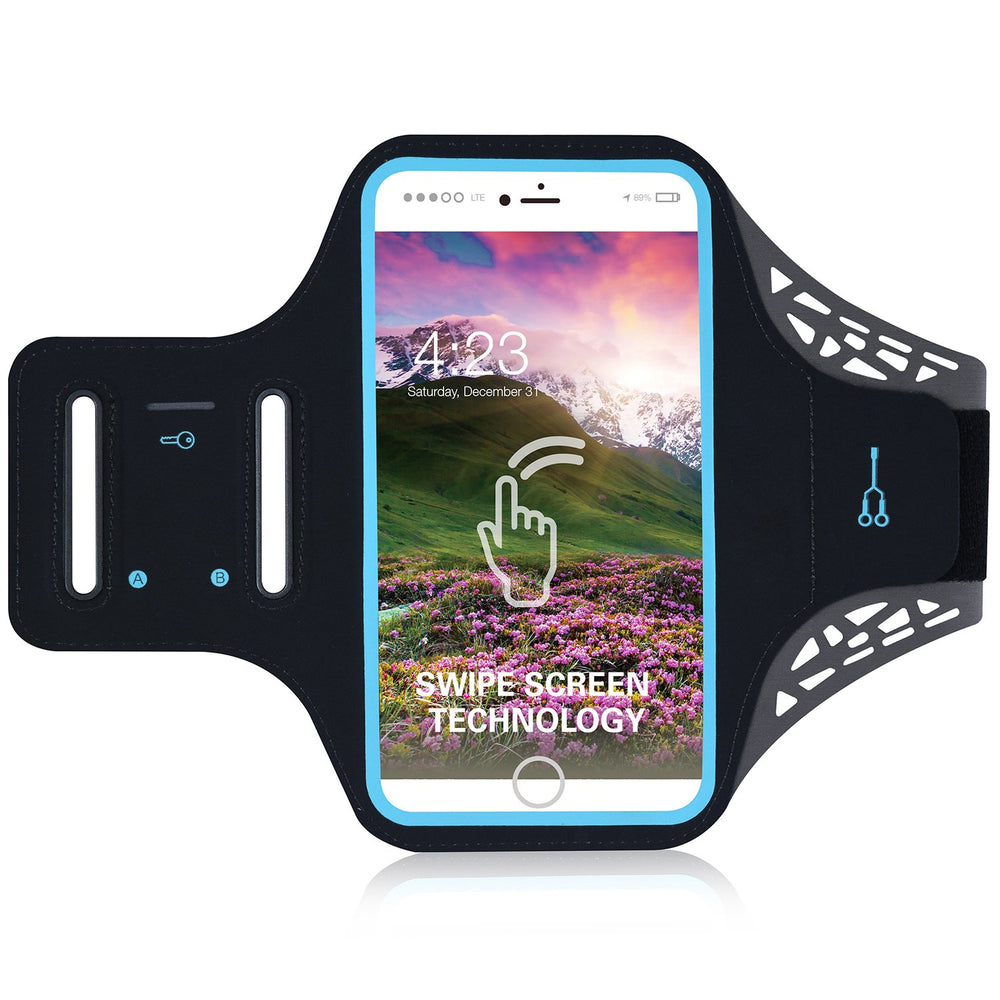 Armband Case Phone Holder Arm Band Gym Running Sports Pouch Jogging Exercise Bag
