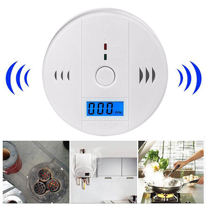 CO Carbon Monoxide Poisoning Gas Sensor Alarm Detector AU stock