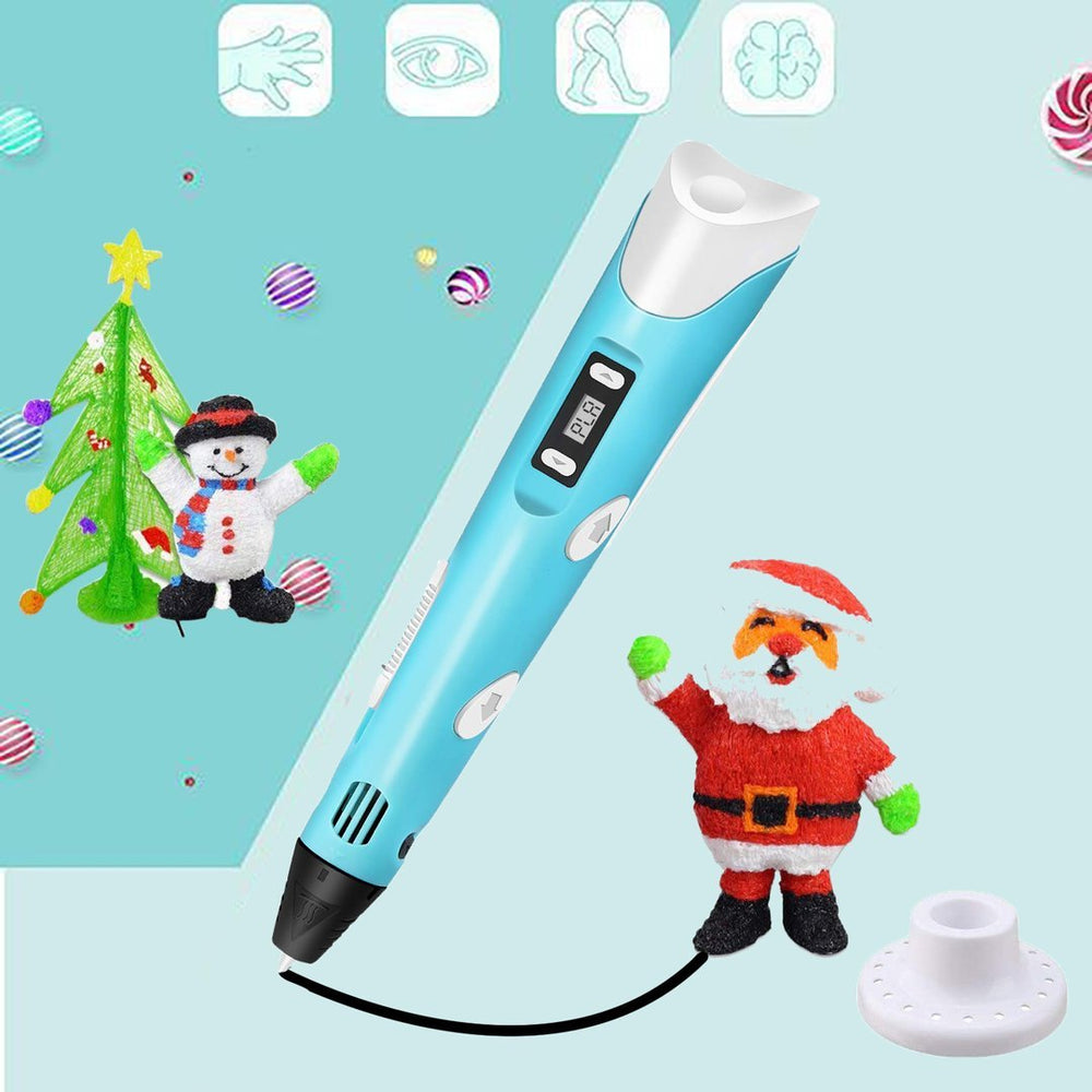 3D Printing Pen With Usb Drawing Pen Stift PLA Filament For Kid Child Education