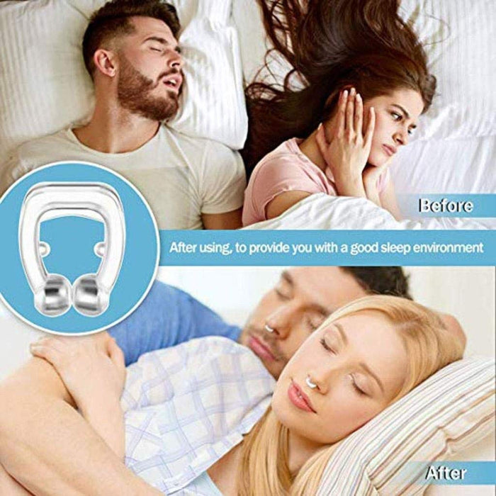 Anti Snore Nose Clip - Sleeping Aid With Carry Case - Smart Living Box
