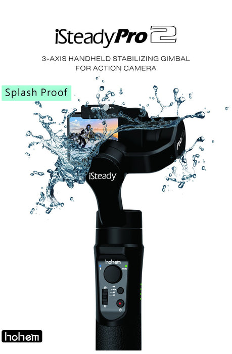 Hohem iSteady Pro2 Handheld 3Axis Gimbal Stabilizer for GoPro Hero 8/7/6/5 Camera