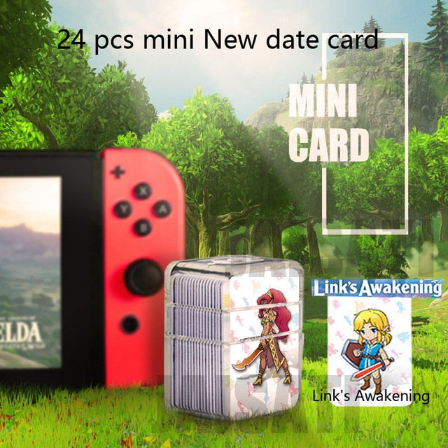 NFC Tag Game Cards for the Legend of Zelda Breath of the Wild Switch/Wii U