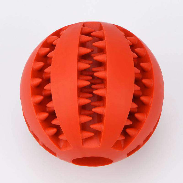 Puppy Pet Dog Rubber Ball Durable Chew Toy - Smart Living Box