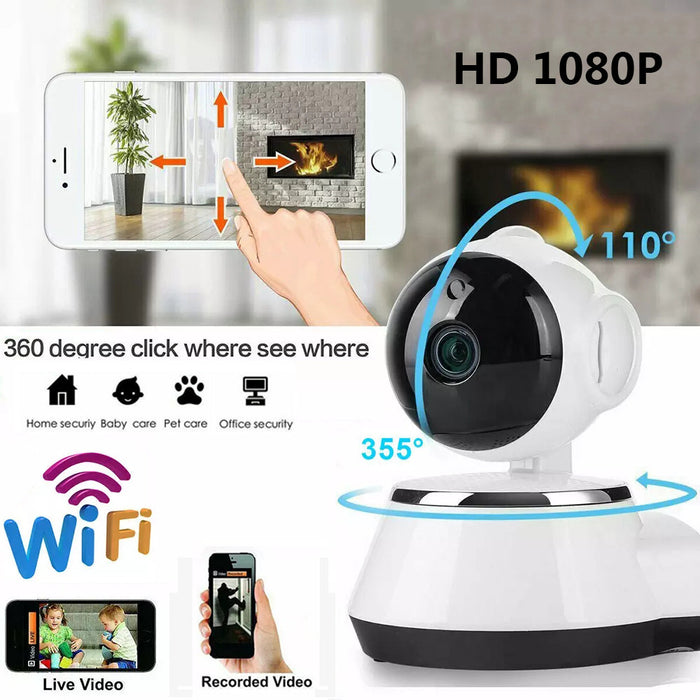 Wireless Home Security Camera WiFi Camera Audio Surveillance Baby Monitor CCTV