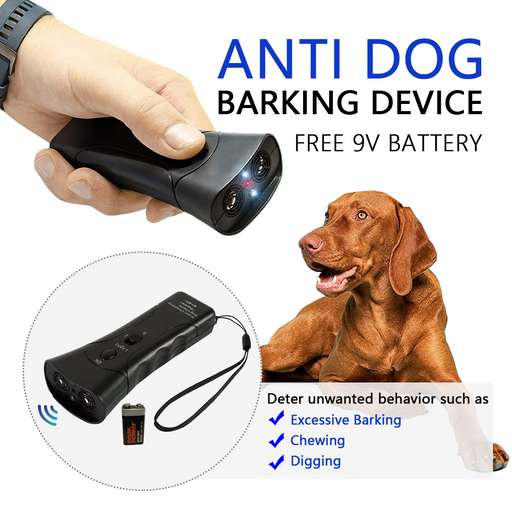 Ultrasonic Pet Dog Stop Barking Away Anti Bark Training Repeller Control Device - Smart Living Box
