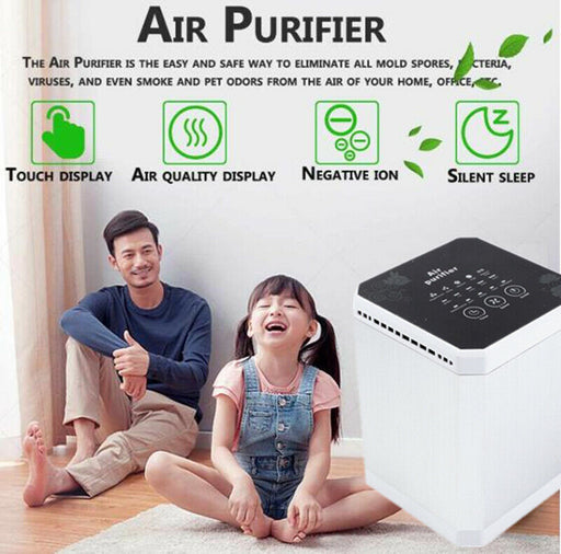 Air Purifier Negative Ion For Hotel/Home/Office Ac220v -Ac110v Remove Formaldehyde Smoke Dust Purification Pm2.5