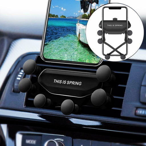 Universal Gravity Car Holder Mount Air Vent Stand Cradle For Mobile Cell Phone - Smart Living Box
