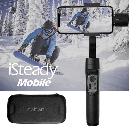 Hohem iSteady 3-Axis Handheld Gimbal Stabilizer for Smartphone IPhone Samsung  Free Shipping - Mobile Tribe