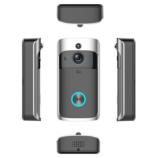 Smart Video Wireless WiFi Door Bell IR Visual Camera Record Security System Kit - Smart Living Box