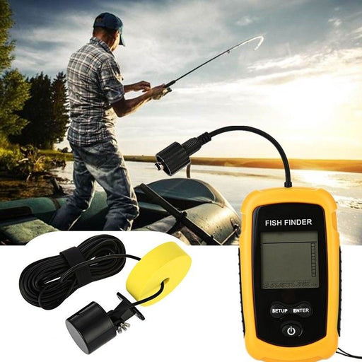 Fish Finder Depth Finder Sonar Alarm Marine Boat Fish finder Navigation Tools