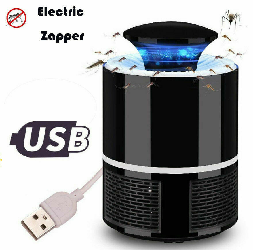 USB Powered Electric Mosquito Killer Lamp Led Bug Zapper Lure Trap for Home