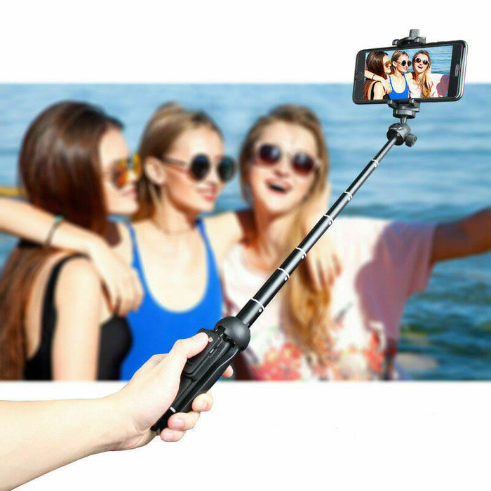 Remote Selfie Stick 1/4inch Handheld Monopod Tripod for Phone Action Camera - Smart Living Box