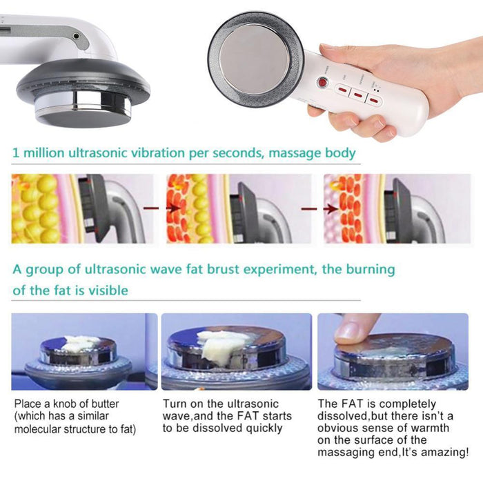 Ultrasonic Cavitation Fat Remover Body Massager Slimming Anti-Cellulite Machine