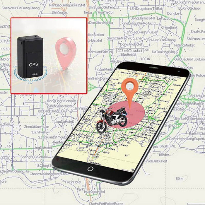 GF-07 Mini GPS Real time Car Locator Tracker Magnetic GSM//GPRS Tracking Device K