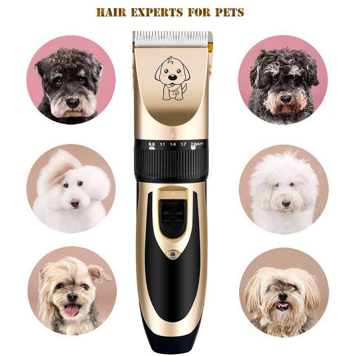 Electrical Pet Dog Hair Trimmer Animal Grooming Clippers Cat Cutter Machine Shaver Electric Scissor Clipper Dog Haircut Machinel