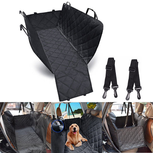 Premium Waterproof Pet Cat Dog Back Car Seat Cover Hammock NonSlip Protector Mat - Smart Living Box