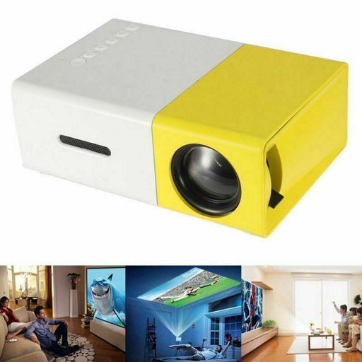 Mini Pocket LED Home Cinema Projector HD 1080P Portable Cinema HDMI USB