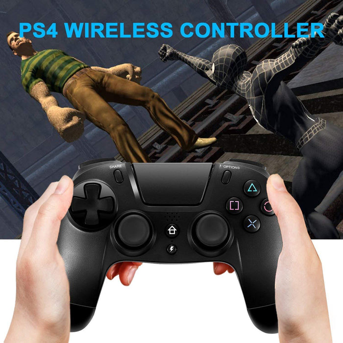 NEW Wireless Bluetooth Playstation 4 Controller DualShock for Sony PS4 Jet Black - Smart Living Box