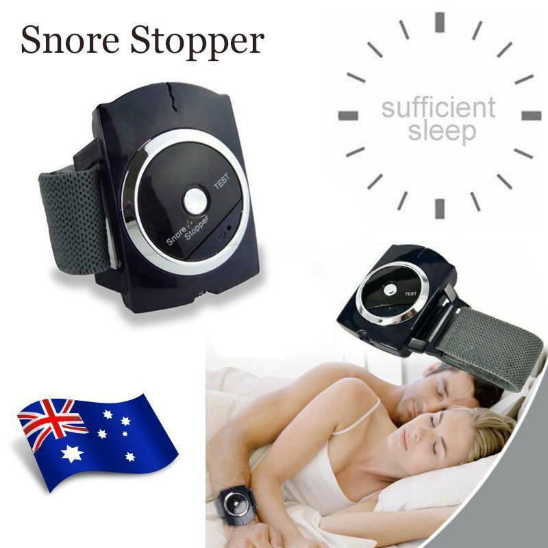 Snore Stopper Adjustable Wristband Bracelet Anti-Snore Aid Sleeping Device