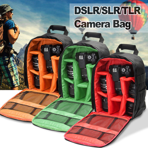 Waterproof DSLR SLR Case Camera Backpack Shoulder Bag For Canon / Nikon / Sony