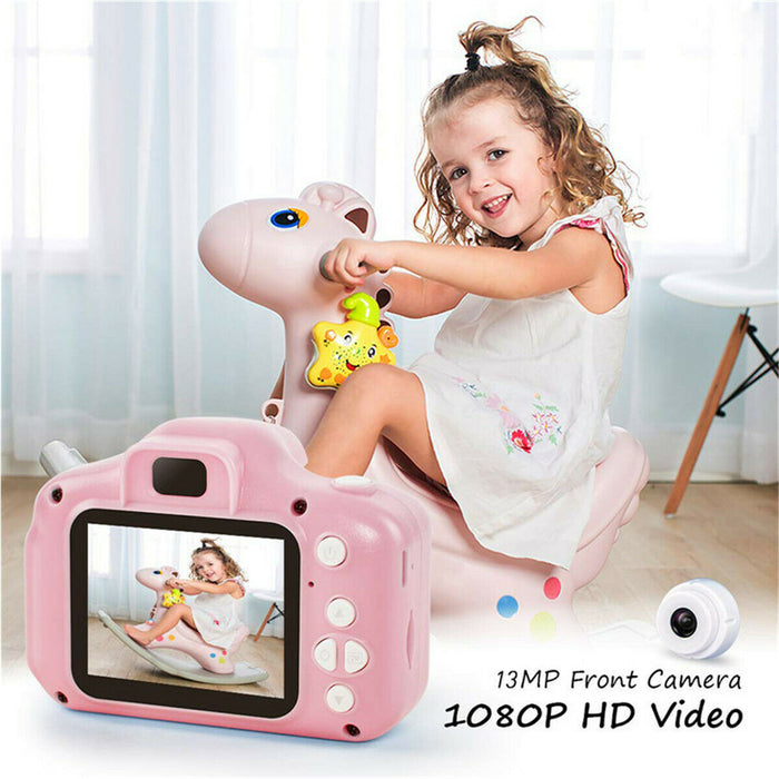 "Children Digital Cameras Kids 2.0"" 1080P Toddler Video Recorder For Boys Girls"