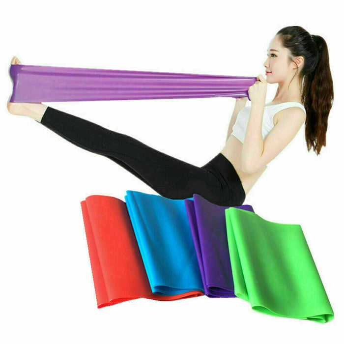 TPE 150cm Health Exercise Pull Strap Stretching Belt Yoga Resistance Band