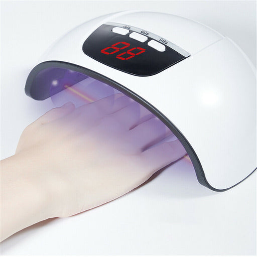 45W Nail Polish Dryer Light UV LED Lamp For Women Quick-Drying Manicure Tools