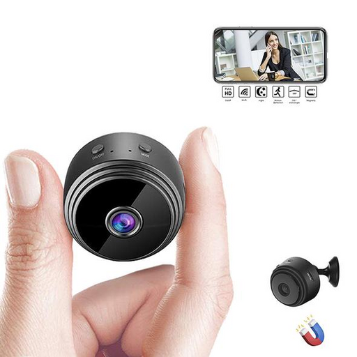 Mini Spy Camera Wireless Wifi IP Home Security HD 1080P DVR Night Vision Remote - Smart Living Box