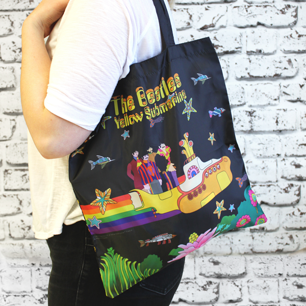 The Beatles Yellow Submarine Shopper - Made From Recycled Bottles