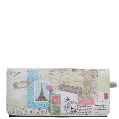 Bon Voyage Ladies Wallet - House of Disaster