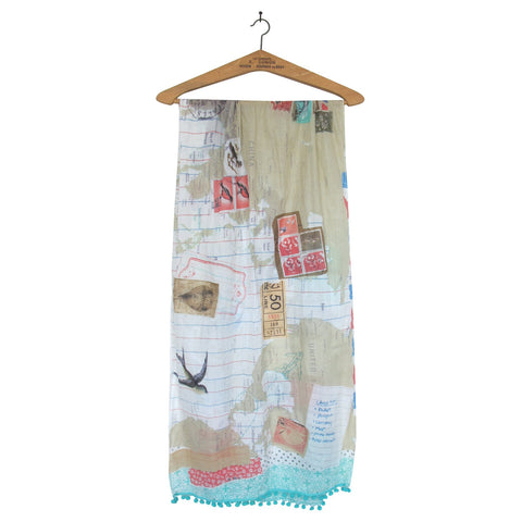 Bon Voyage World Scarf - House of Disaster