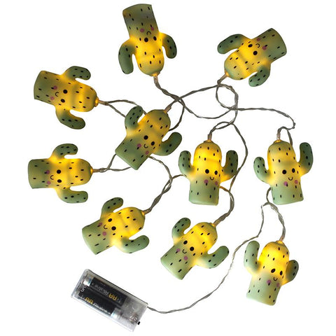 Cactus String Lights