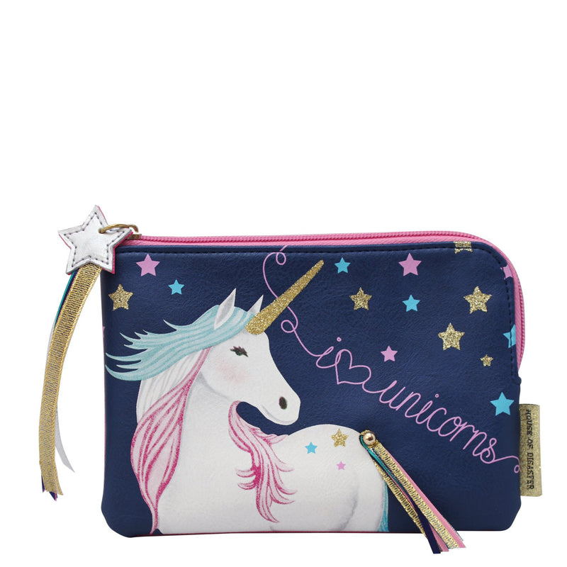 Candy Pop Unicorn Zip Pouch - House of Disaster
