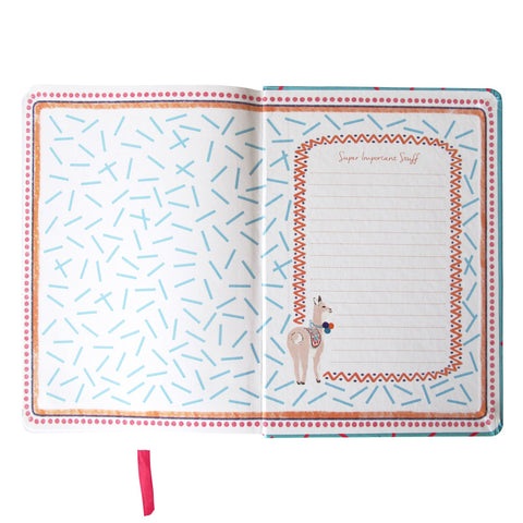 Candypop Llama Notebook - House of Disaster