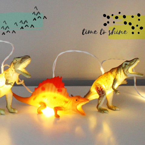 Dinosaur Natural String Lights