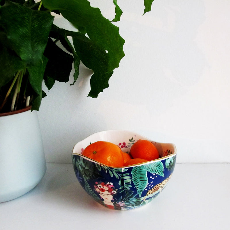 Frida Kahlo Tropical Bowl