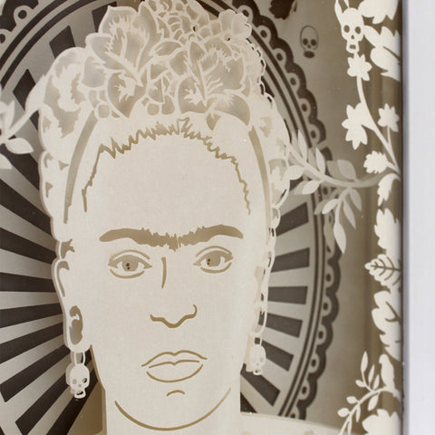 Frida Kahlo Shadow Box