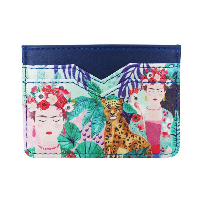 Frida Kahlo Tropical Card Holder