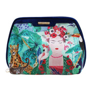 Frida Kahlo Tropical Make Up Bag